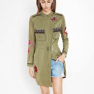 Desigual | Alabanza Button Down Green Dress